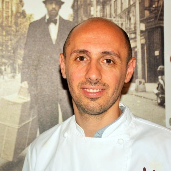 Executive chef Philip Guardione