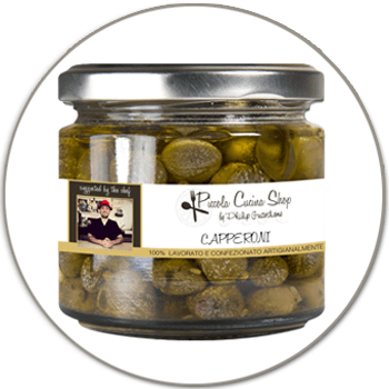 Sicilian capers flavoured - Capperoni