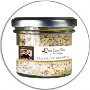 Caper flavoured sea salt - Sale speziato al cappero