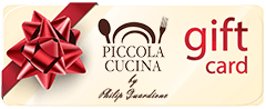 Create a gift card on Piccola Cucina Restaurants