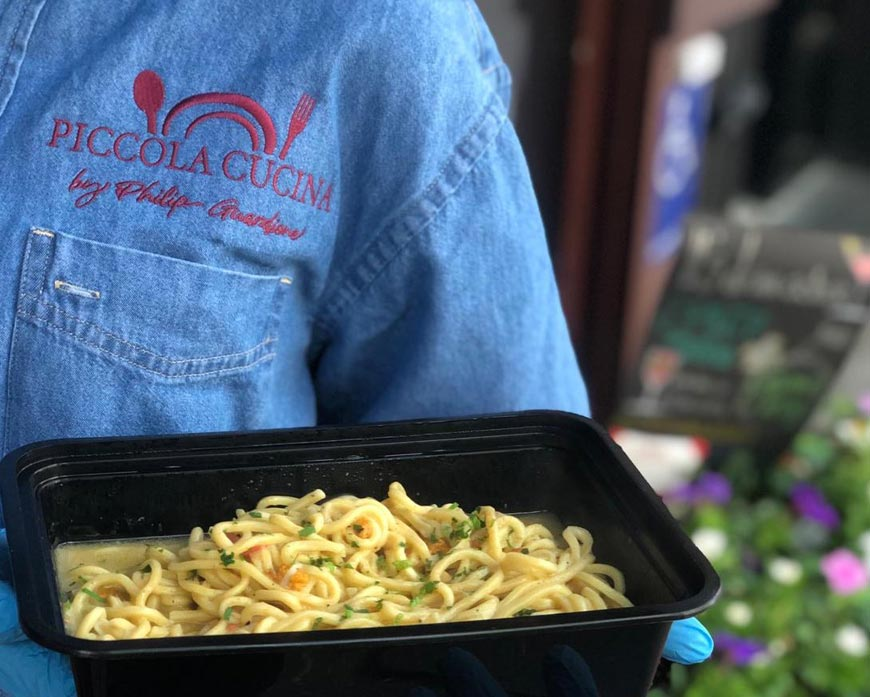 Home Delivery Service - Piccola Cucina Uptown